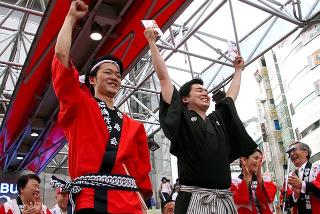 第18回 渋谷・鹿児島おはら祭踊りパレード入賞連紹介